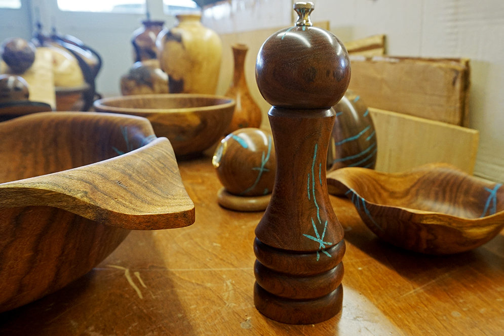 Craig Timmerman's finished pieces